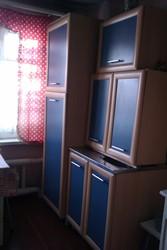 Кухня,  8 предметов мебели,  состояние хорошее ,  цвет беленый дуб скомби
