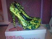 Туфли женские. Очень яркие