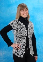Оренбургский платок пуховый