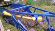 Полунавесной картофелекопатель Agromet Z-609/2