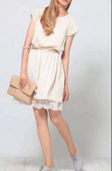 Летнее платье для романтичных девушек